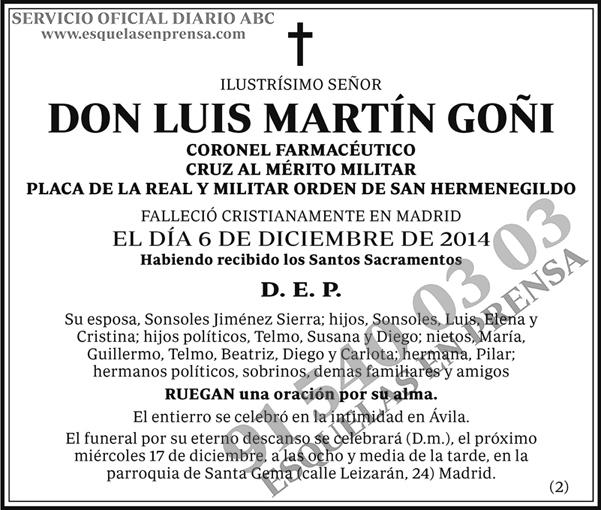 Luis Martín Goñi